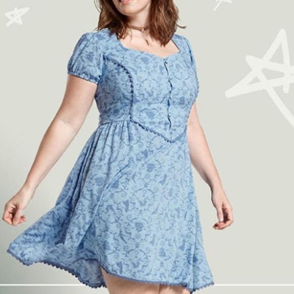 3a4d190c822 Torrid Neverland Wendy Skater Dress